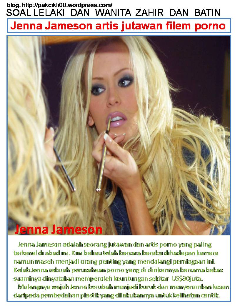 jenna jameson artis jutawan filem porno